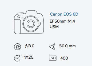 exif data rob moses canon 6d 50mm 1.4