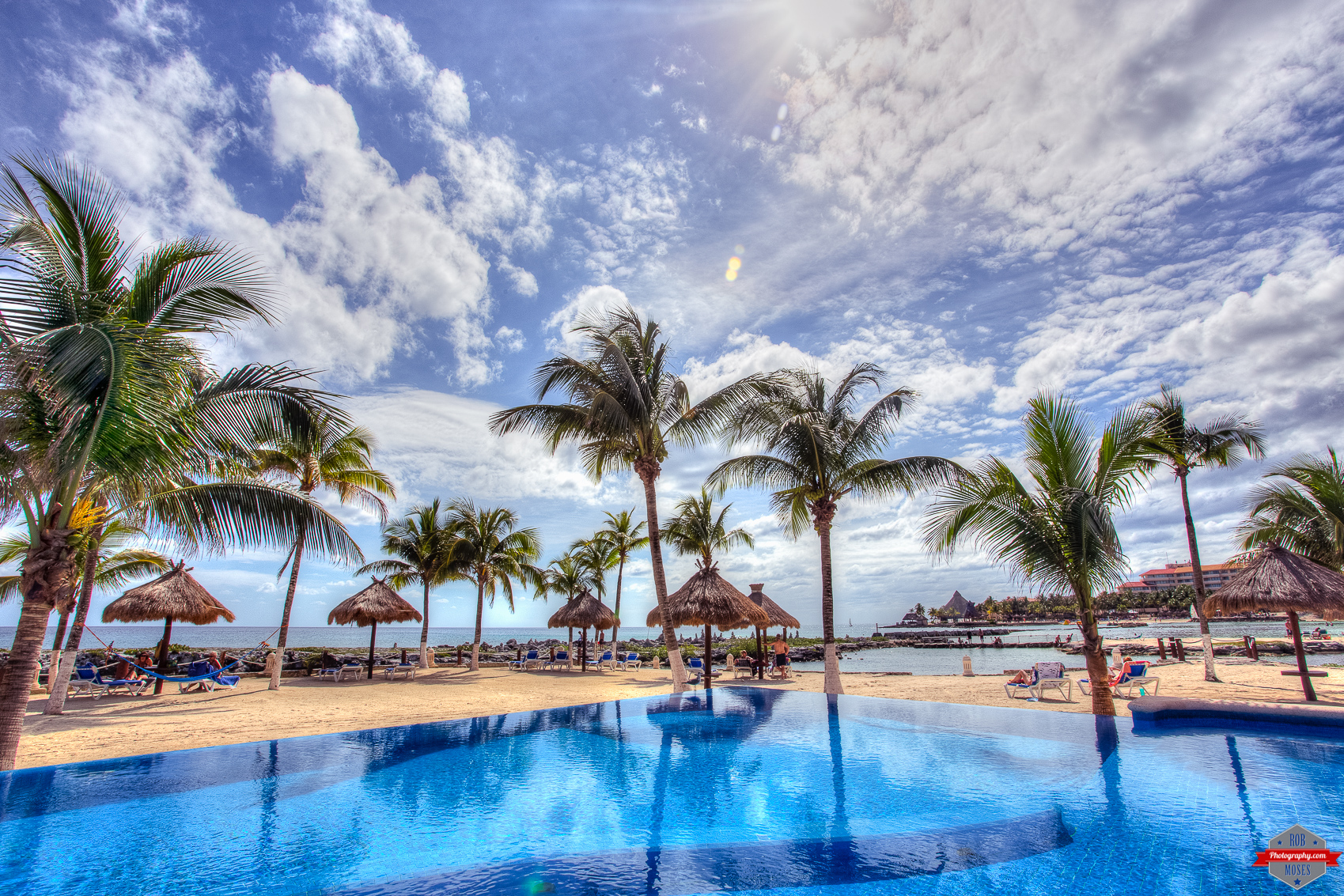 Playa del carmen rob moses photography - Palm beach pool ...