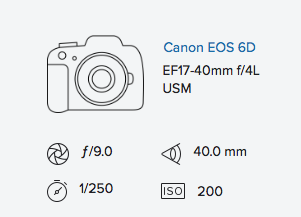 exif data rob moses canon 6d 17-40mm