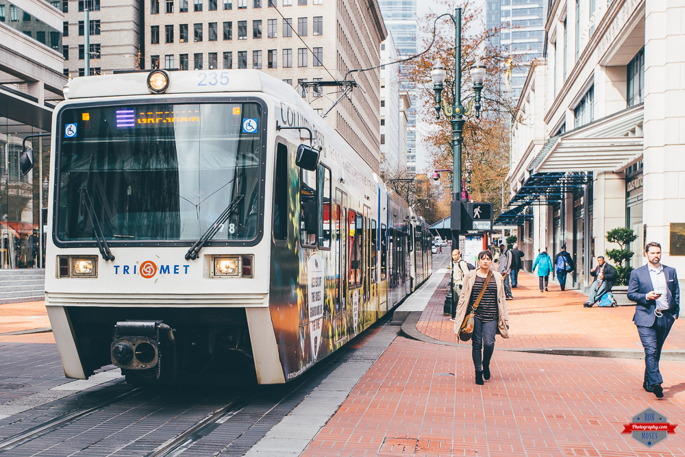 TriMet train subway street car people urban downtown Rob Moses Photography Portland Calgary Vancouver Seattle Spokane Photographer WA BC Native American Tlingit Ojibaway famous un celebrity Canadian best pdx