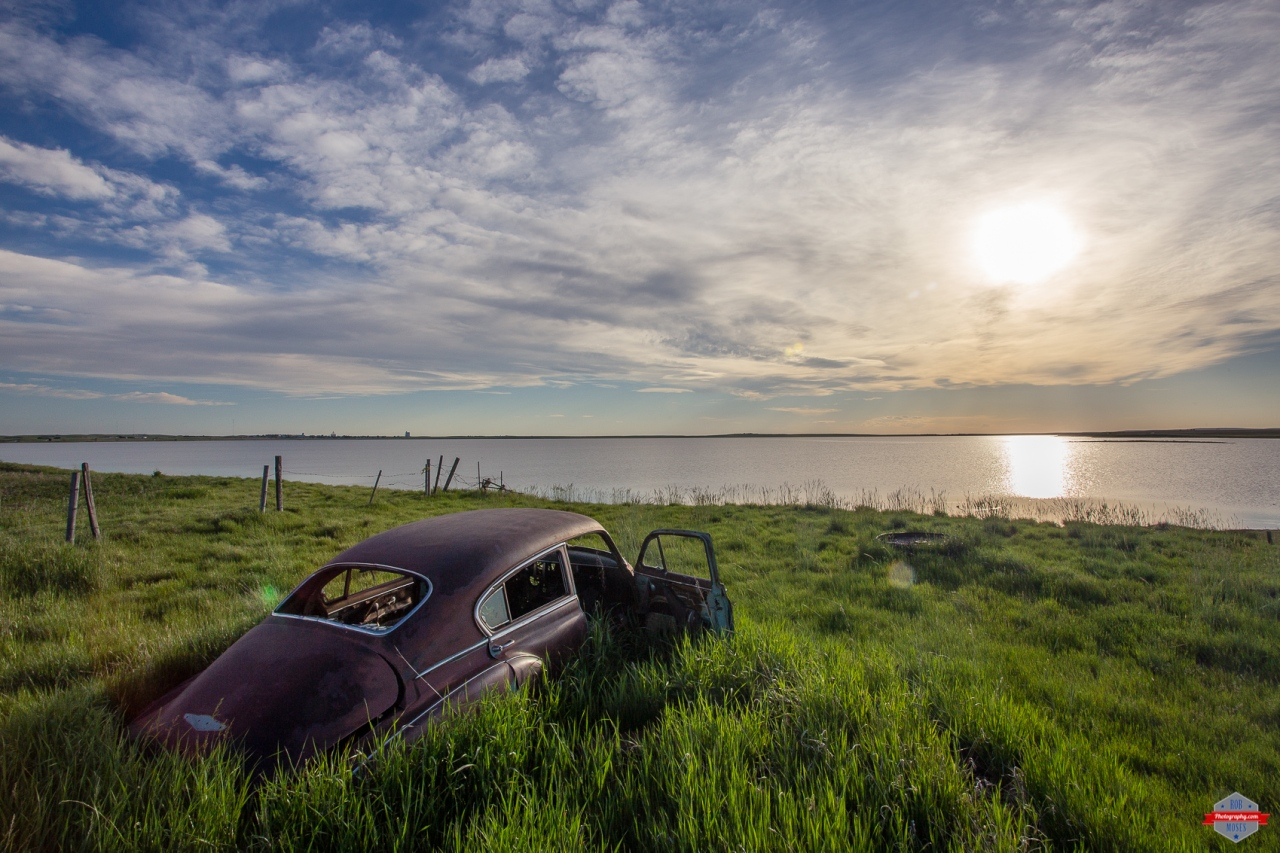 Abandoned Car Hussar Alberta lake sunset sky beautiful Rob Moses Photography Portland Calgary Vancouver Seattle Spokane Photographer WA BC Native American Tlingit Ojibaway famous un celebrity Canadian best pdx Adventure -