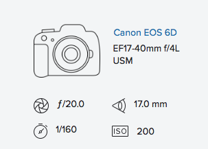 Canon 6d 17-40mm exif data rob moses