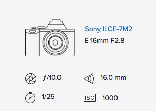 Sony a7ii & 16mm 2.8 with Fisheye Converter