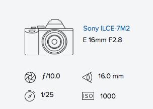 Sony a7ii & 16mm 2.8 with Fisheye Converter