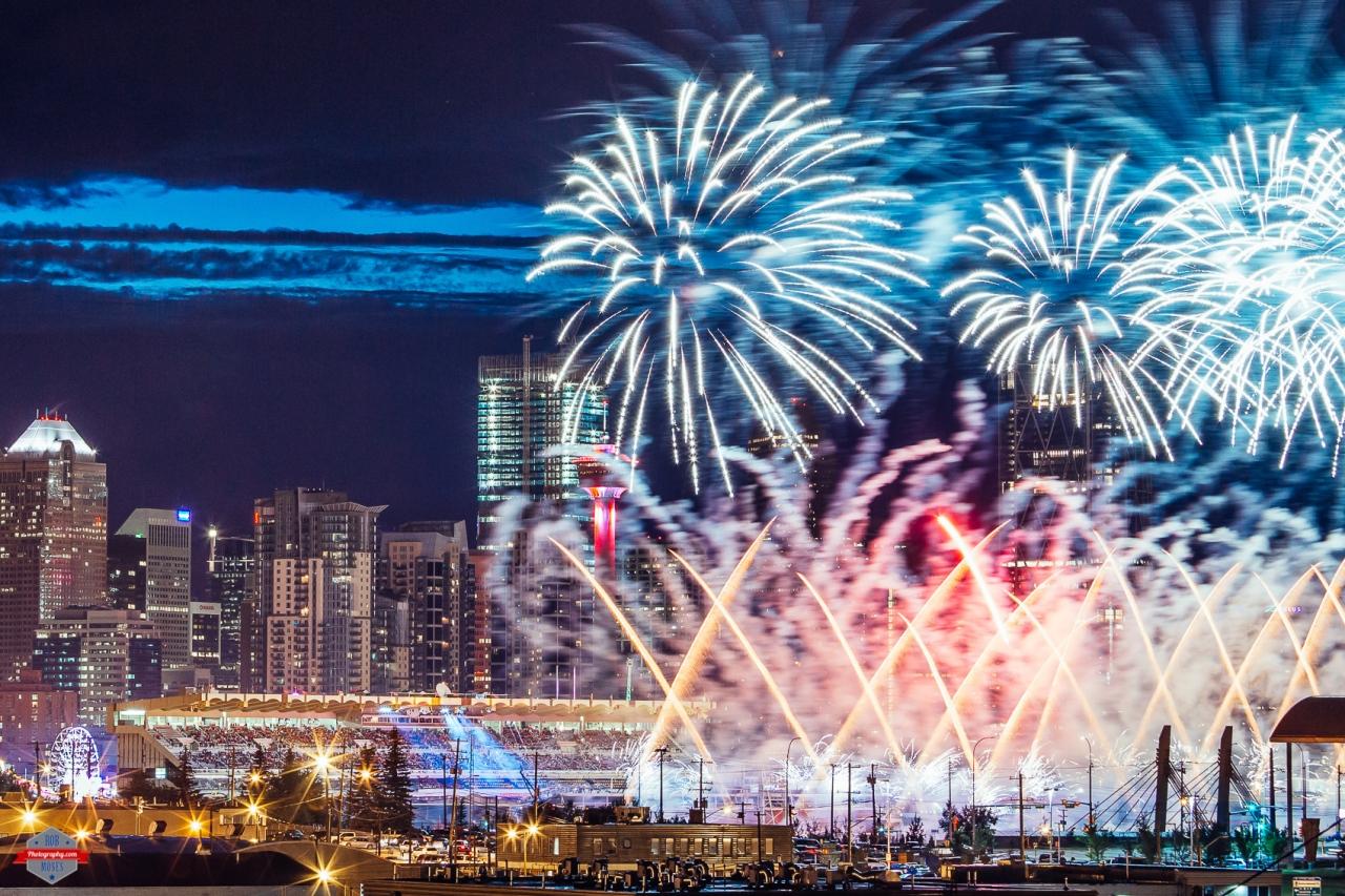 YYC Fireworks
