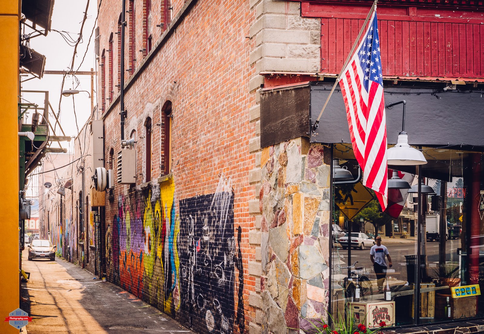 Graffiti wall calgary - Sandpoint Id Idaho Usa Alley Graffiti Street Art