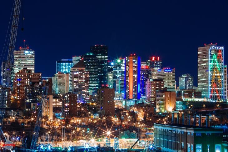 Edmonton Night Rob Moses Photography