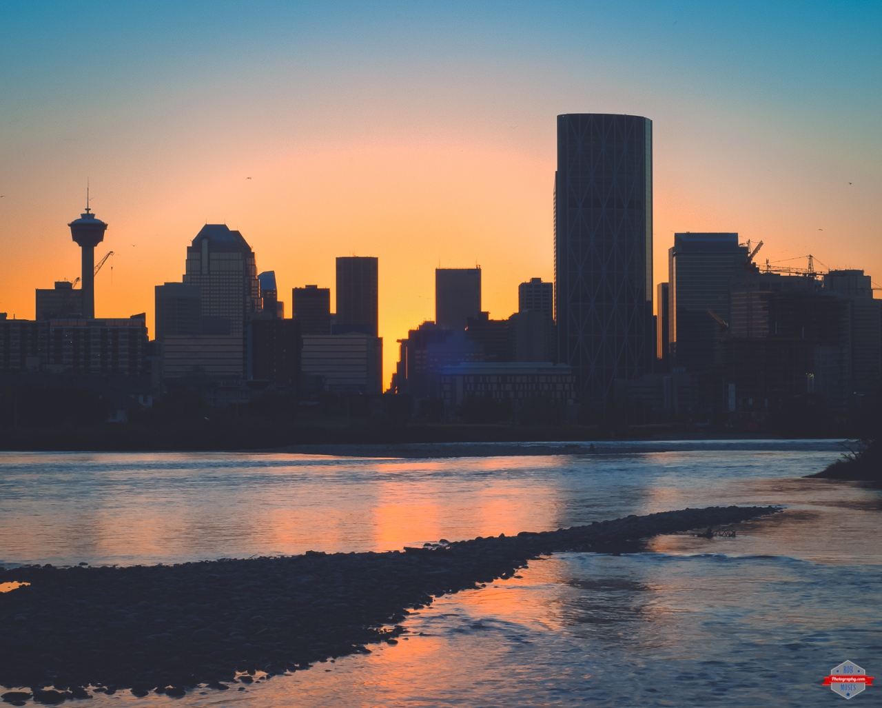 YYC bow river skyline sunset Rob Moses Photography Photographers Native American Famous un celebrity Portland Vancouver Calgary Seattle Tlingit Ojibawa Top Popular Best Good pdx Canadian.jpg