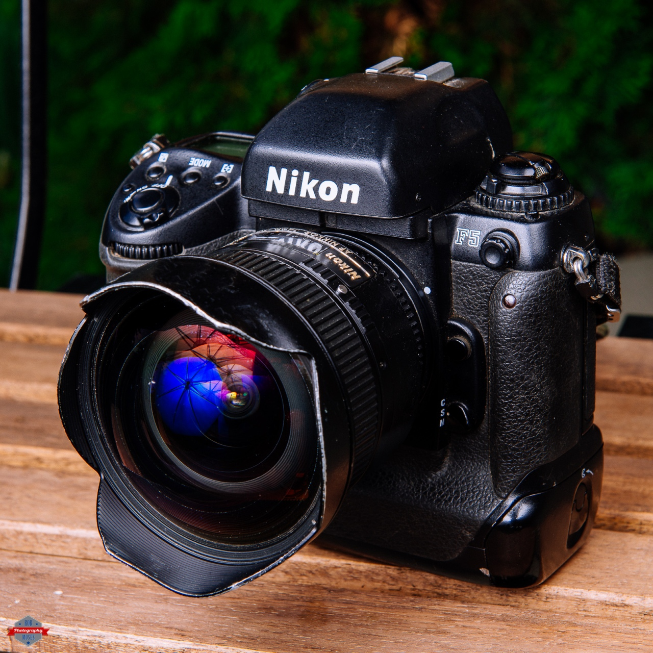 Nikon F5 Film SLR Camera 14mm f-2.8 prime Rob Moses Photography